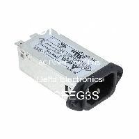 03SEEG3S - Delta Electronics - AC電源ラインフィルター