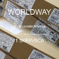 1.5KE6V8CA - STMicroelectronics - TVS Diodes - Transient Voltage Suppressors