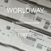 TS972ID - STMicroelectronics - 연산 증폭기-Op 증폭기