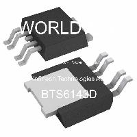 10 X  BTS6143D Smart Highside SMD Power Switch Power MOSFET IC Transistor