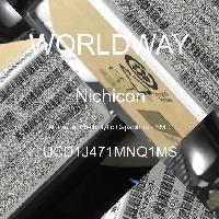 UCD1J471MNQ1MS - Nichicon Corporation - Aluminum Electrolytic Capacitors - SMD
