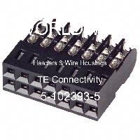 5-102393-5 - TE Connectivity - Headers & Wire Housings