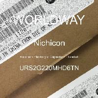 URS2G220MHD6TN - Nichicon - Kapasitor Elektrolit Aluminium - Bertimbel