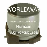 UUD1V270MCL1GS - Nichicon - Aluminum Electrolytic Capacitors - SMD