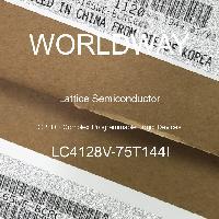 LC4128V-75T144I - Lattice Semiconductor Corporation - CPLD - Dispositifs logiques programmables com