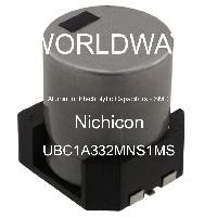 UBC1A332MNS1MS - Nichicon - Aluminum Electrolytic Capacitors - SMD