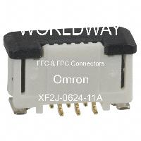 XF2J-0624-11A - Omron Electronics Inc-EMC Div - FFCおよびFPCコネクタ