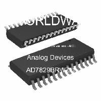 AD7829BRWZ-1 - Analog Devices Inc - Analog to Digital Converters - ADC