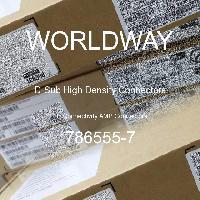 786555-7 - TE Connectivity AMP Connectors - D-Sub High Density Connectors