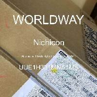 UUE1H331MNS1MS - Nichicon - Aluminum Electrolytic Capacitors - SMD