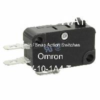 V-10-1A4-T - OMRON Electronic Components LLC - Basic / Snap Action Switches
