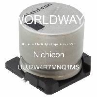 UUJ2W4R7MNQ1MS - Nichicon - Aluminum Electrolytic Capacitors - SMD
