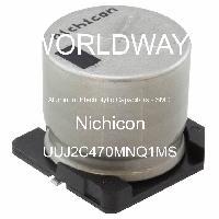 UUJ2C470MNQ1MS - Nichicon - Aluminum Electrolytic Capacitors - SMD