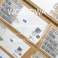 05085C102MAT2V - AVX Corporation - Condensateurs céramique multicouches MLCC - S