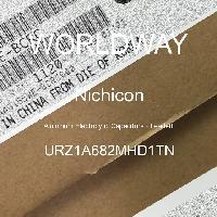 URZ1A682MHD1TN - Nichicon - Kapasitor Elektrolit Aluminium - Bertimbel