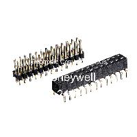 Pack of 75 Board-To-Board Connector TSW-103-09-S-S Through Hole 3 Contacts Header 1 Rows 2.54 mm TSW Series TSW-103-09-S-S