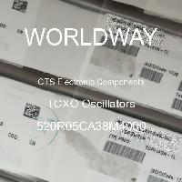 520R05CA38M4000 - CTS Electronic Components - Osilator TCXO