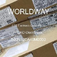 520R10DA40M0000 - CTS Electronic Components - Osilator TCXO