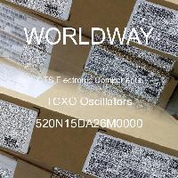 520N15DA26M0000 - CTS Electronic Components - Osilator TCXO