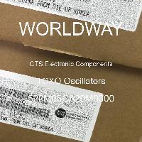 520M05CA20M0000 - CTS Electronic Components - Osilator TCXO