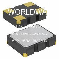 520L15DA19M2000 - CTS Electronic Components - Osilator TCXO
