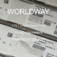 520R15DA16M3677 - CTS Electronic Components - Osilator TCXO