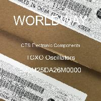 520M25DA26M0000 - CTS Electronic Components - Osilator TCXO