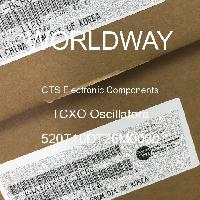 520T10DT26M0000 - CTS Electronic Components - Osilator TCXO