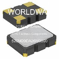 520M20DA26M0000 - CTS Electronic Components - Osilator TCXO