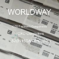 520N15DA13M0000 - CTS Electronic Components - Osilator TCXO