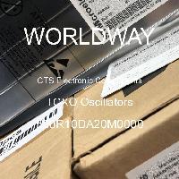520R10DA20M0000 - CTS Electronic Components - Osilator TCXO
