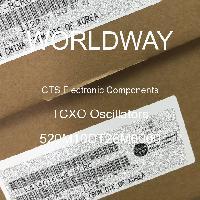 520M10DT26M0000 - CTS Electronic Components - Osilator TCXO