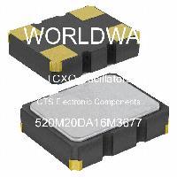 520M20DA16M3677 - CTS Electronic Components - Osilator TCXO