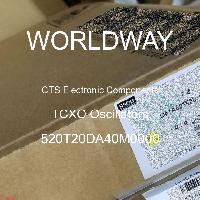 520T20DA40M0000 - CTS Electronic Components - Osilator TCXO
