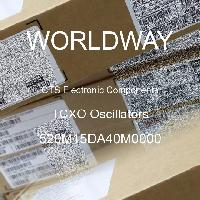 520M15DA40M0000 - CTS Electronic Components - Osilator TCXO