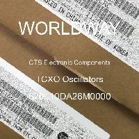 520L10DA26M0000 - CTS Electronic Components - Osilator TCXO