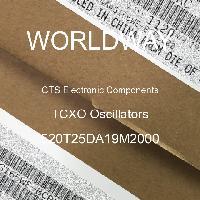 520T25DA19M2000 - CTS Electronic Components - Osilator TCXO