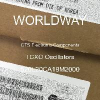 520L20CA19M2000 - CTS Electronic Components - Osilator TCXO
