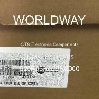 520R05HA19M2000 - CTS Electronic Components - Osilator TCXO