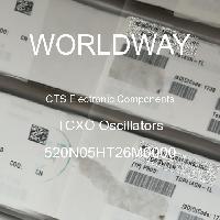 520N05HT26M0000 - CTS Electronic Components - Osilator TCXO