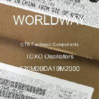 520M20DA19M2000 - CTS Electronic Components - Osilator TCXO