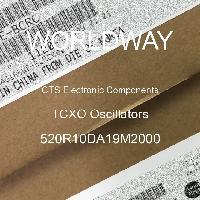 520R10DA19M2000 - CTS Electronic Components - Osilator TCXO