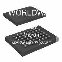 M29W640GB70ZA6E - Micron Technology Inc - フラッシュ