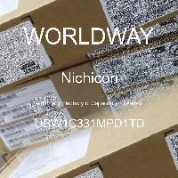 UBW1C331MPD1TD - Nichicon - Kapasitor Elektrolit Aluminium - Bertimbel