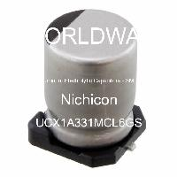 UCX1A331MCL6GS - Nichicon - Aluminum Electrolytic Capacitors - SMD