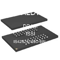IS42S16160D-6BL - Integrated Silicon Solution Inc - 적은 양