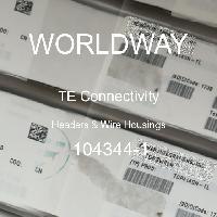 104344-1 - TE Connectivity Ltd - Headers & Wire Housings