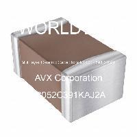 08052C391KAJ2A - AVX Corporation - Capacitores cerámicos de capas múltiples (MLC