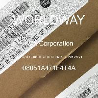 08051A471F4T4A - AVX Corporation - Multilayer Ceramic Capacitors MLCC - SMD/SMT