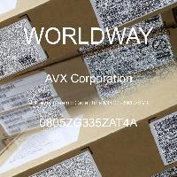 0805ZG335ZAT4A - AVX Corporation - Multilayer Ceramic Capacitors MLCC - SMD/SMT